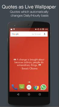 Quotes Live Wallpaper poster