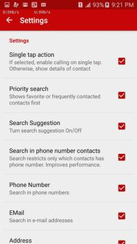 Contact Search apk screenshot