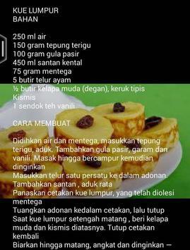 Resep Aneka Kue Tradisional poster