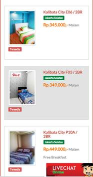 Booking Apartemen apk screenshot