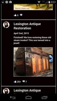 Antique Restoration, Lexington apk screenshot