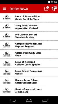 Lexus of Richmond DealerApp apk screenshot