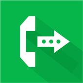 LG Call forwarding icon