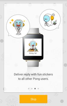 PONG - Reply from Android Wear apk screenshot
