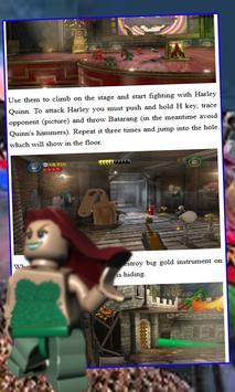Guide, Tips for Lego Batman 2 poster