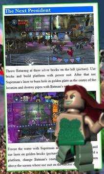 Guide, Tips for Lego Batman 2 apk screenshot