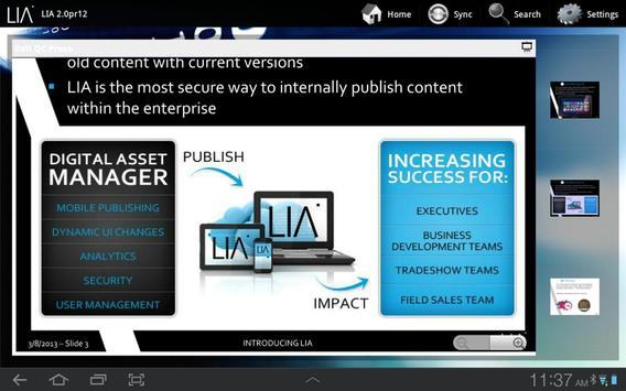LIA apk screenshot