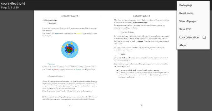 Cours électricité de Base apk screenshot