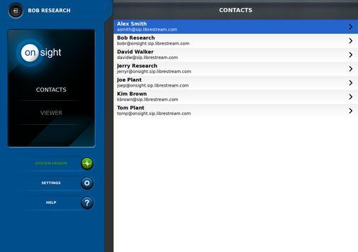 Librestream Onsight Connect apk screenshot