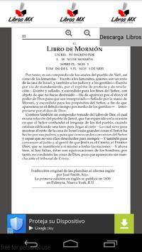 Libro del Mormon en Español poster