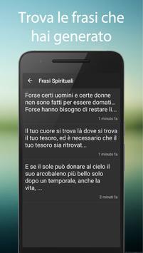 Frasi Spirituali apk screenshot