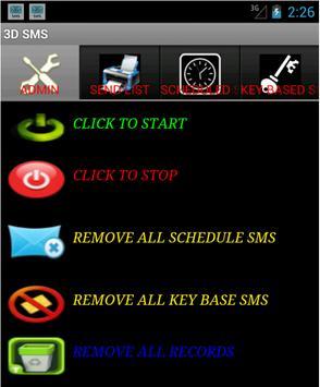 3D SMS apk screenshot