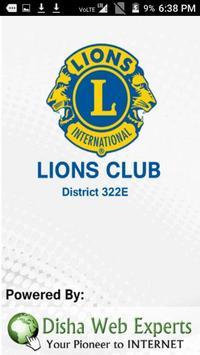 Lions Club District 322E apk screenshot