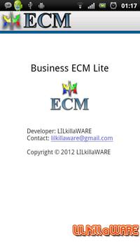 Business ECM Lite apk screenshot