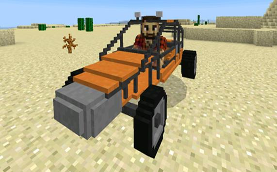 Vehicle Mod: Cars FOR MCPE apk screenshot