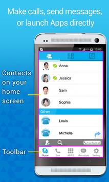 PChome Talk UI for Skype poster