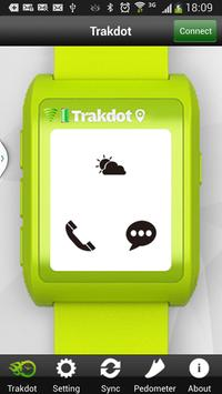 TrakdotWatch Android 4.3 poster
