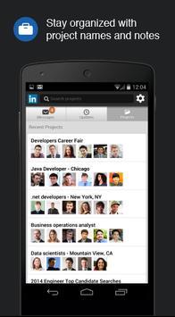 LinkedIn Recruiter apk screenshot