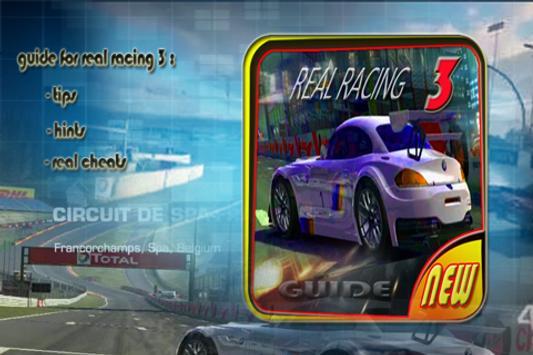 New Guide For Real Racing 3 apk screenshot