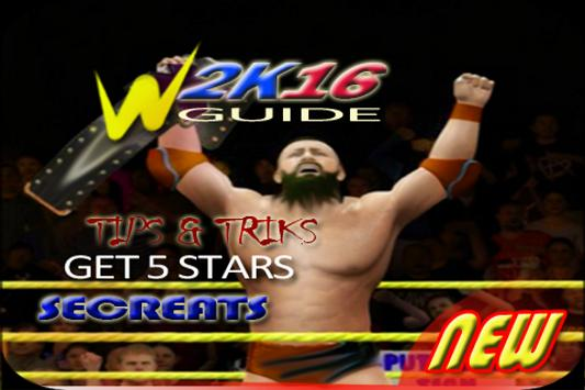Best Guide 4 WWE 2K16 New poster