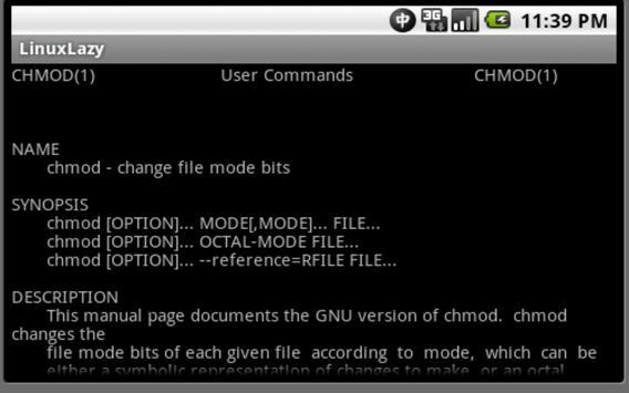 Linux Lazy apk screenshot