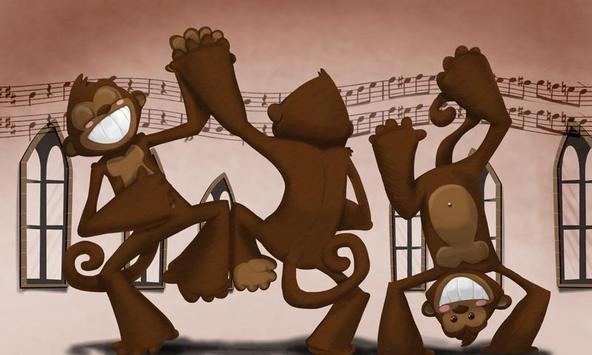 القرود الراقصة apk screenshot