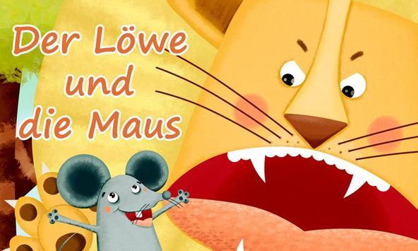 Der Löwe und die Maus poster