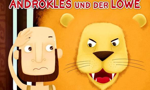 Androkles und der Löwe poster