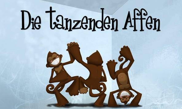 Die tanzenden Affen poster