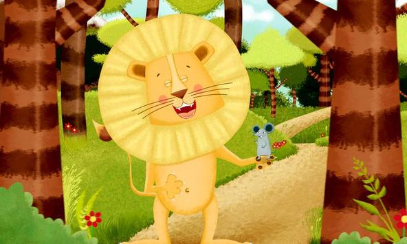 The lion and the mouse apk screenshot