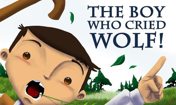 The Boy Who Cried Wolf! poster