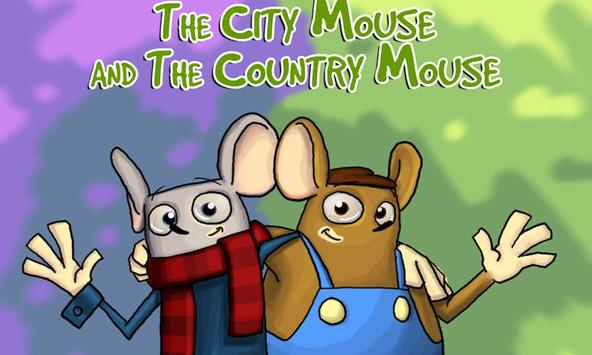 City Mouse and Country Mouse poster