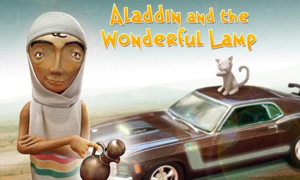 Aladdin and the wonderful lamp poster