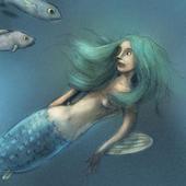The little mermaid icon