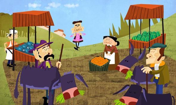 El ladrón y el burro apk screenshot