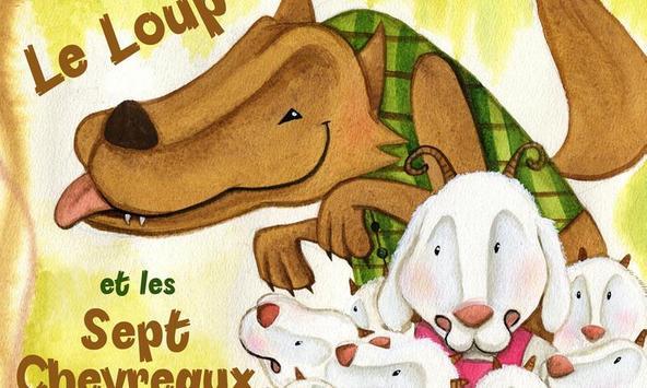 Le loup et les 7 enfants poster