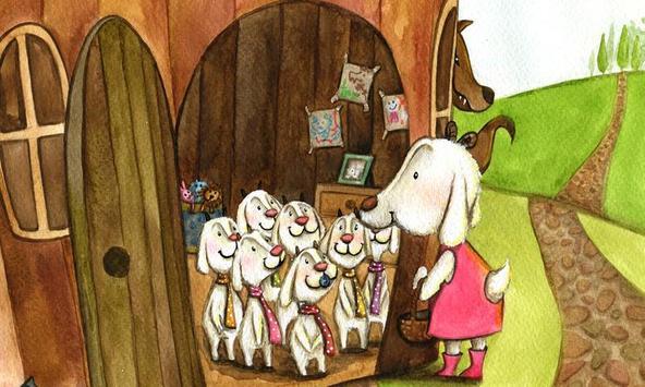 Le loup et les 7 enfants apk screenshot