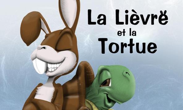 La Lièvre et la Tortue poster