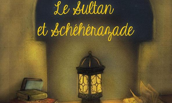 Le sultan et Sheherezade poster