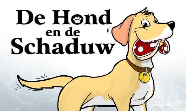 De hond en de schaduw poster