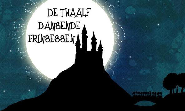 De twaalf dansende prinsessen poster