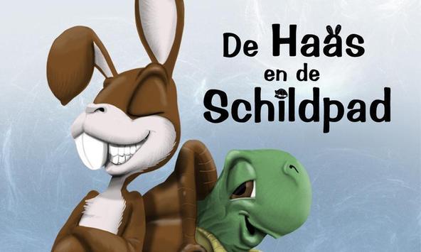 De Haas en de Schildpad poster