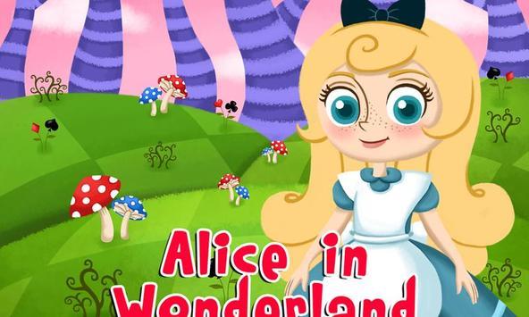 De Alice in Wonderland poster