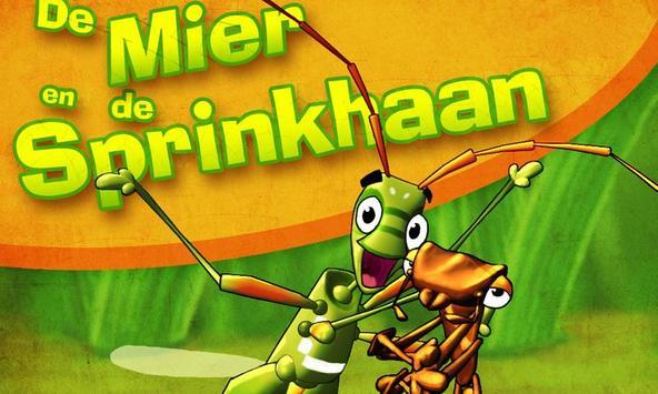 De Mier en de Sprinkhaan poster