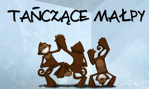 Tańczące małpy poster
