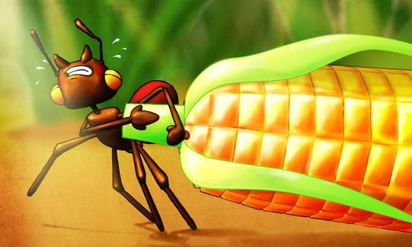 Mrówka i konik polny apk screenshot