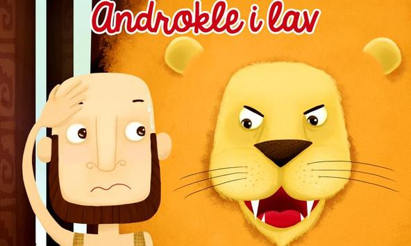 Androkle i Lav poster