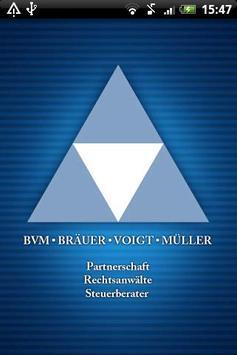 BVM Bräuer Voigt Müller poster