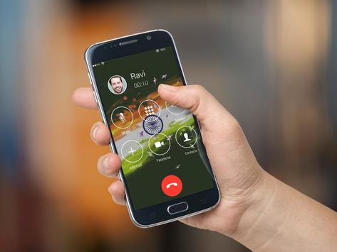 i Calling Screen- Indian Theme apk screenshot