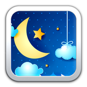 Night Clouds Live Wallpaper icon